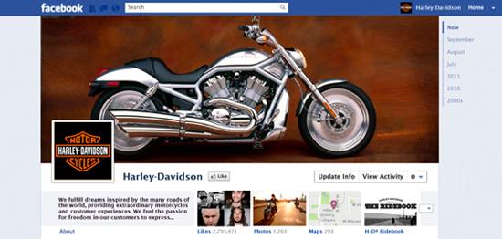 harley-facebook